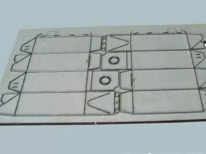 成都包装纸盒制作模版展示