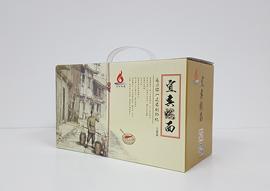 面条包装盒客户合作见证