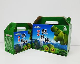 猕猴桃水果包装盒制作