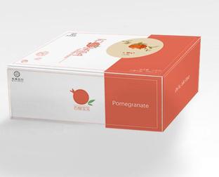 石榴水果包装盒订制