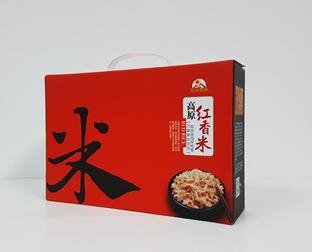 成都大米包装盒制作