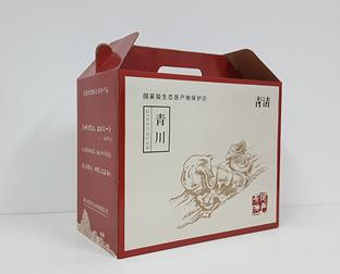 青川土特产包装盒订做