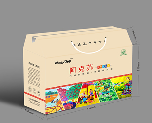 新疆土特产包装盒制作