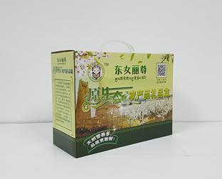农产品礼品盒制作/定做