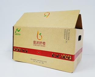 脐橙水果纸箱订制